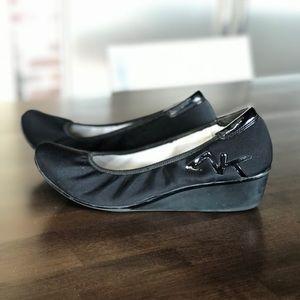 Anne Klein Sport Akdax Black Shoe 9.5M